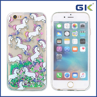 [GGIT] Fashion Custom With Cute Pony Pattern Design Liquid TPU Cover Case For IPhone 6
