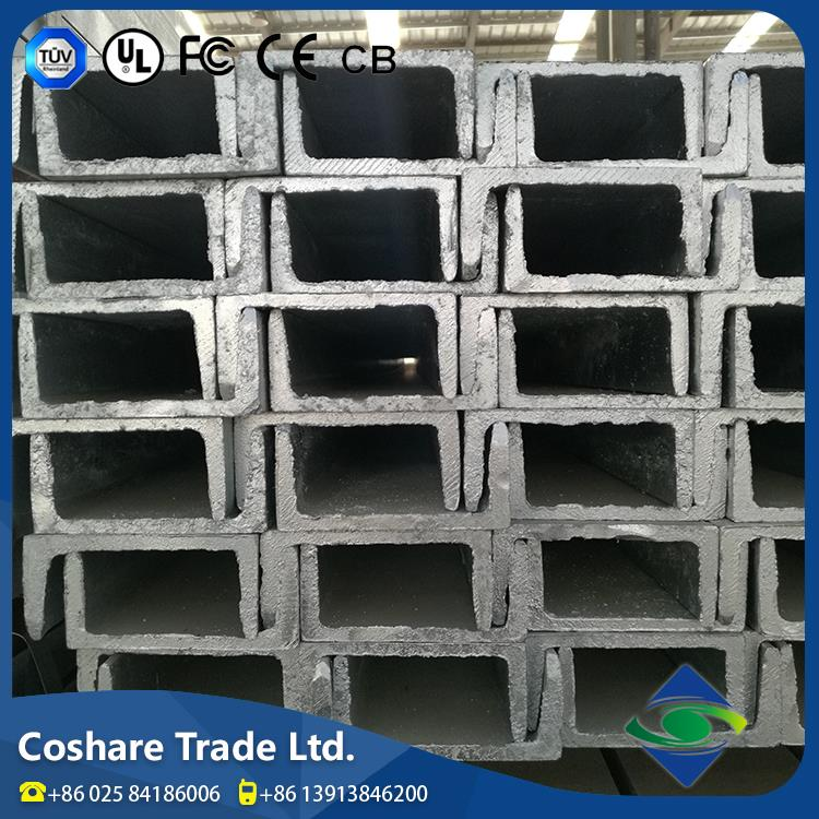 COSHARE- ISO 9001 approval High usage rate u beam steel channel steel