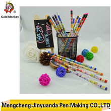 promotional wooden hb pencil with rubber