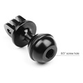 "Go Pro Accessories CNC Aluminum 360 Rotation ""O"" Ball Head Bracket Ball Head Yuntai for GoPro Hero 6 5 4 3"