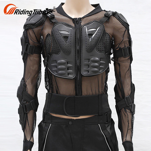 Best Quality Cheap Cool Leather Riding Jacket Ce Motocross Motorcycle Armor