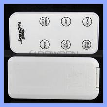 Above 8M Working Distance IR Wireless Remote Control Custom Available 6 x Bubble Button LED Remote Controller