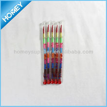 Bullet crayon,11 pcs colorful crayon, transparent crayon
