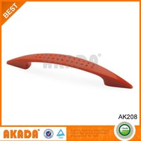 2015 red color new rubber plastic furniture handle