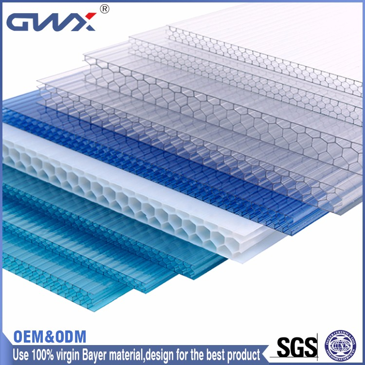 Excellent Weather Ability Greenhouse UV Coating Plastic Roof