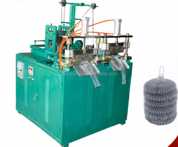 Cleaning scourer making machine / cleaning ball machine