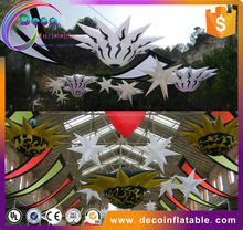 Wholesale bar/stage/hotel decoration LED lighting inflatable star