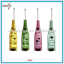 Hot long stem candle holders,colored hanging tealight candle holders