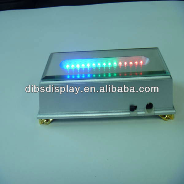 Plastic led display base for decoration