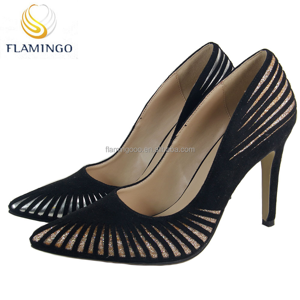 FLAMINGO 2017 LATEST ODM OEM fashion designer shoes women famous brands heels ladies