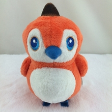 China supplier OEM Pretty cute Orange Birds Stuffed Soft Toy Plush Birds doll toy