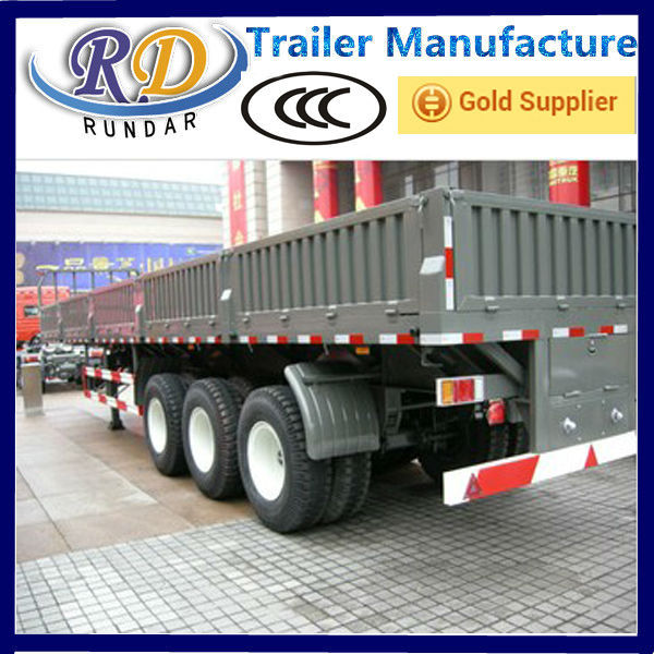Low price hot sell cargo trailer for mozambique