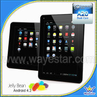"Hotselling android 4.2 dual core 9.7"" smart tablet pc"