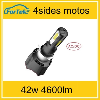 factory sale high power 4 sides 42w 4600lm moto motorcycle lighting
