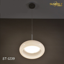 ST-1239 sunbelt modern led glass pendant lamp / aluminum pendant lamp for restaurant