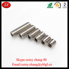 Dongguan Hardware Factory Customized Made SUS304 Grub Screws With Top Precision