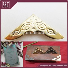 fashion metal bag corner decorative corner for purse/ notebook