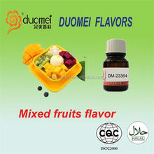 Mixed fruits flavor drinking flavor, flavors of carbonated drinks