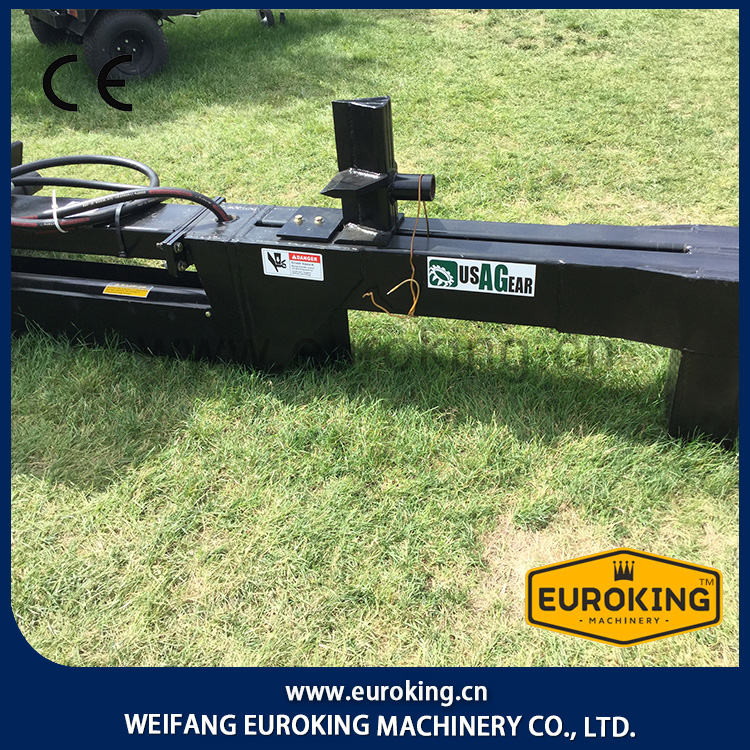 EUROKING Five years warranty Ram pushing power25 Tons Skid Steer Accessories log splitter