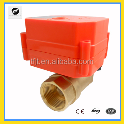 CWX-60P electric ball valve with actuator for solar thermal system