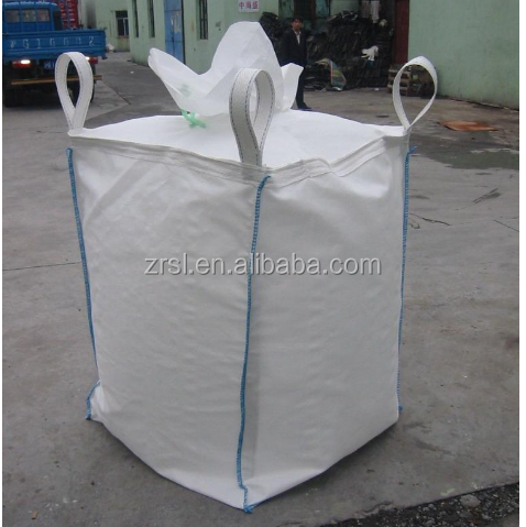 Top Full Open Top Option (Filling) and Flat Bottom Bottom Option (Discharge) 1.5 ton cement bag