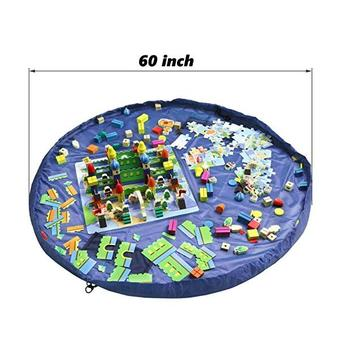Multi Purpose Kid's Activity Mat and Toys Organizer toys storage bag