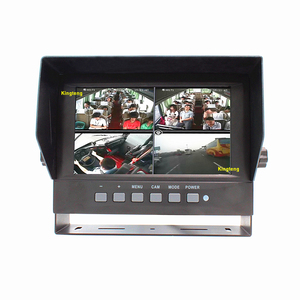 KT-620 7 Inch Quad Waterproof Car TFT LCD Display Screen Monitor