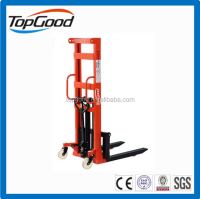 NBO 2 ton manual forklift manual pallet stacker, manual stacker, electric stacker