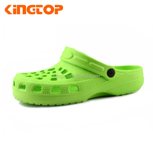 Green eva man clog shoe , simple clog shoe for man