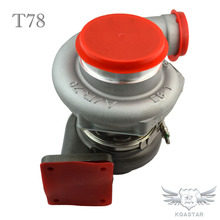 T78 Turbocharger Anti-surge T4 Twin Scroll Turbo Charger
