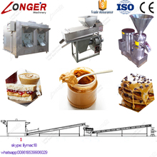 Factory Sale Cocoa Bean Grinder Groundnut Paste Production Equipment Commercial Peanut Butter Machine