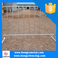 Top Quality New Design PVC/Vinyl/Plastic Outdoor Portable/Temporary Fence