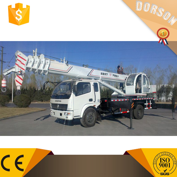 China mobile crane 12 ton new used cargo crane truck