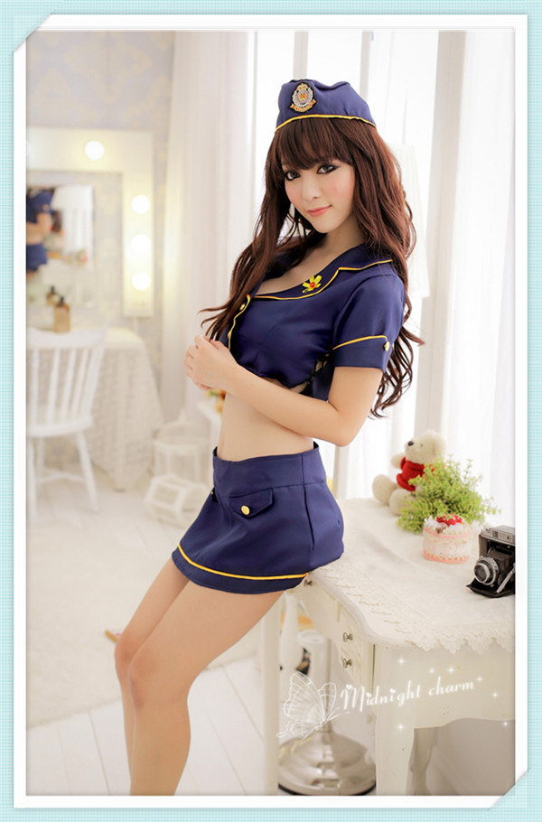 sexy police girl short skirt hot sexy police wearing skirts costumes for girls photo