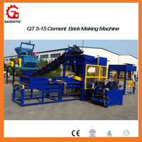 Construction Machine Hydraulic Pressure Brick Machine of Building Material
