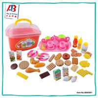 Pretend preschool kid play best kitchen toy tea sets for children