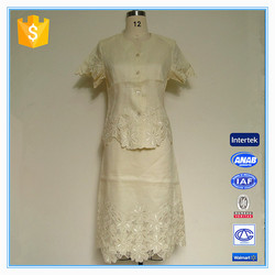 Made-to-measure Short Sleeves Church Suits Fashion Lady Suit