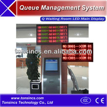 Multiple Lines Queuing System Waiting Room Central LED Main Display