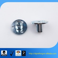 zinc coated cabinet furniture hardware metal t-nut