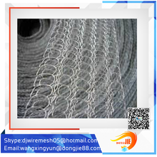 AnPing county popular monel wire mesh hexagonal mesh knitted wire mesh