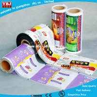 hot shrink film label bottle wrap label printing factory beverage packing label