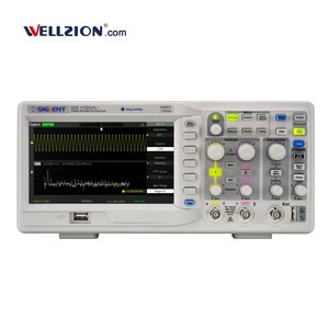 SDS1102CML+,oscilloscope portable 100MHz much better than rigol ds1102e oscilloscope