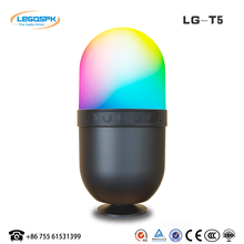 hot sale new design portable USB port computer mini speaker with led light