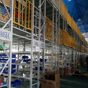 Warehouse Pallet Rack Supported Metal Mezzanine Floor Systems