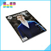 High quality OEM full color matte art paper beautiful matte magazine printing