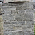 Black Natural Slate Stone Veneer post