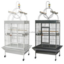 2017 HOT sale large stainless steel parrot cage