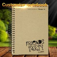 Custom A5 Hardcover Eco Recycled Kraft