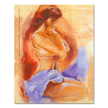 Newest Beautiful Girl Nude Oil House China Factory Painting For Decor