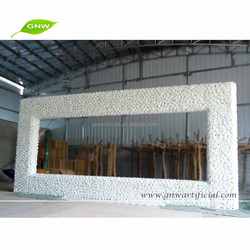 GNW FLW1603003-W The Latest Design of the Beautiful Romantic Wedding Stage Background Wedding Decoration